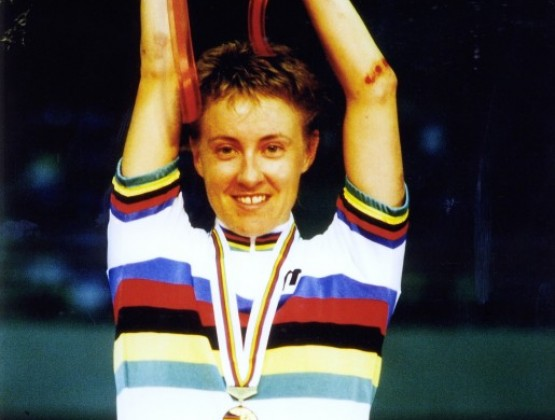 1990 World Track Chamionships Maebashi Japan 1st Place Womens Points Rac v2