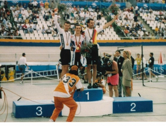1992 Olympic Games Barcelona 3rd Place Mens Individual Pursuit Gary Anderson v2