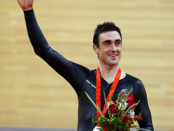 2008 Olympic Games Beijing 2nd Place Mens Individual Pursuit Hayden Roulston v3