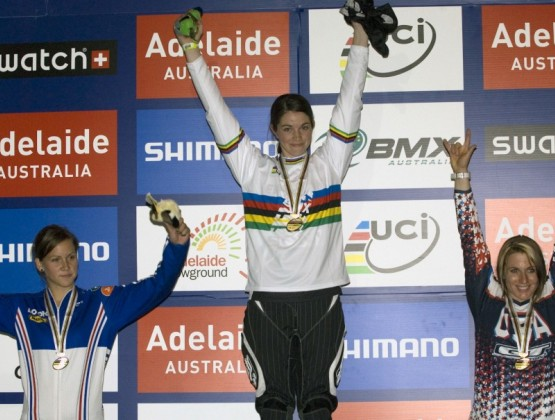 2009 World BMX Championships Adelaide Australia 1st Place Womens 20 in v2