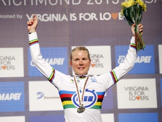 2015 World Road Championships Richmond USA 1st Place Womens TT v2