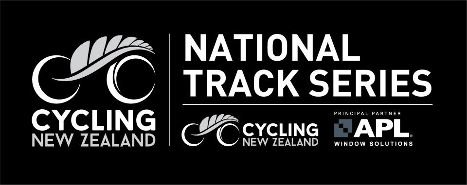 CNZ National Track Series Logo Reverse