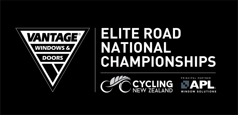 Vantage Elite Road National Champs Logo Reverse